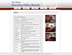 San Diego Executive Office Rentals